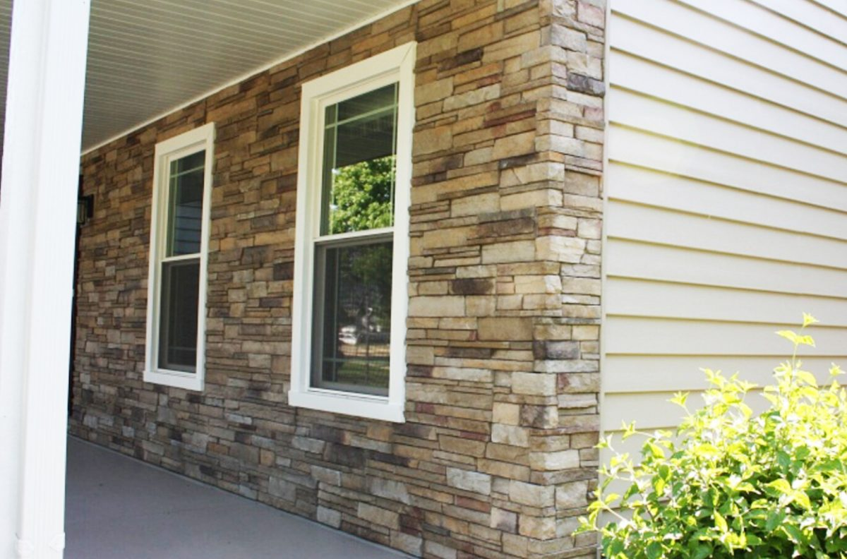 Siding options supplied and installed by all things siding Mortarless stone siding